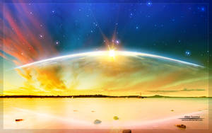 Alien Sunrise by Catalin-Geani