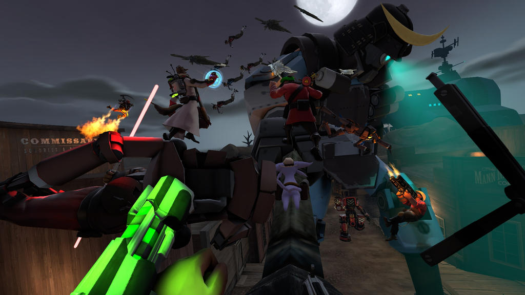 Huge MVM Boss Battle (First Person contest entry) by browser-surfer14