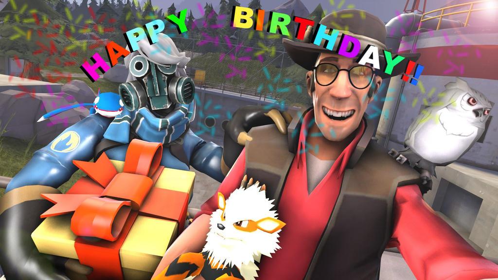 Birthday Selfie by browser-surfer14