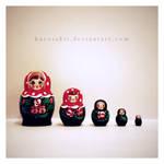 Happy Family by kurosakii