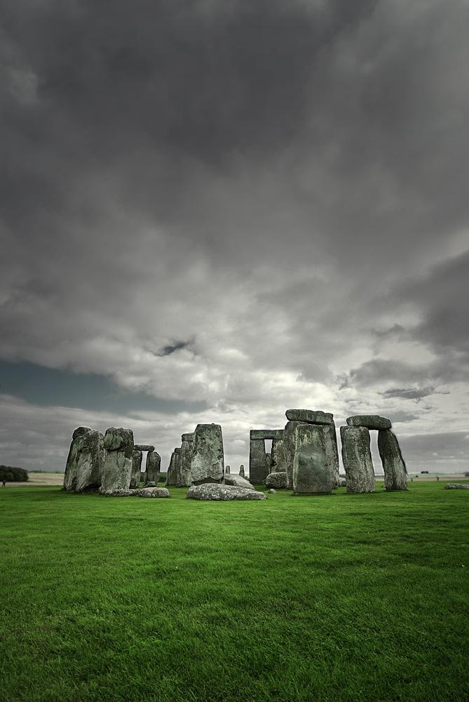 Stonehenge by kurosakii