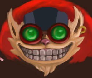 Ziggs from LoL painting WIP v2 by thegreatseanzy