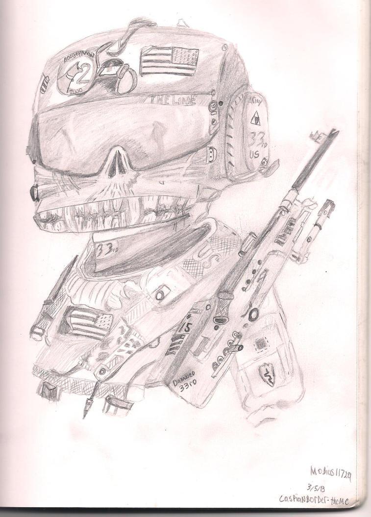 American Gunner by mobius-118