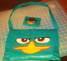 Perry the Platypus purse by Fairygirl1031
