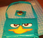 Perry the Platypus purse