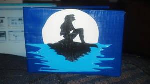 Little mermaid duct tape wallet by Fairygirl1031