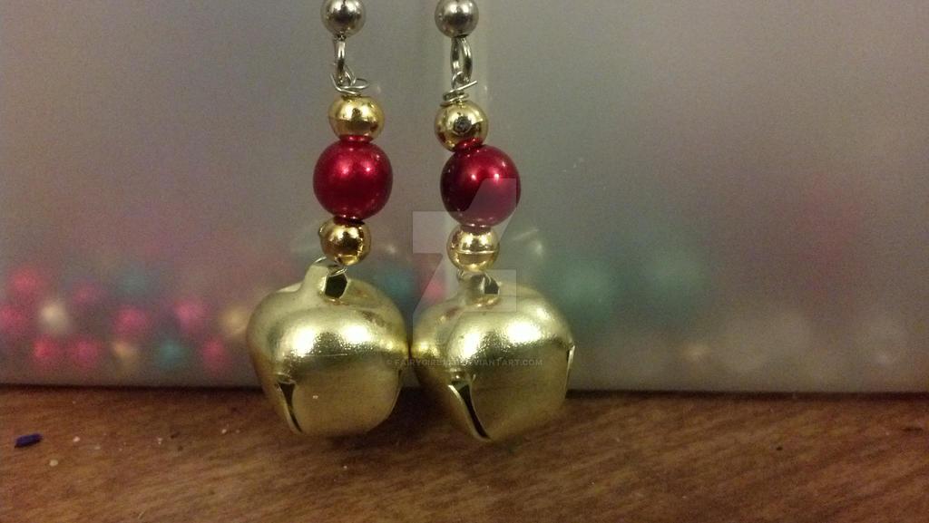 Jingle Bell Earrings By Fairygirl1031 On Deviantart