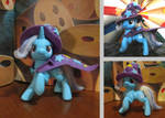 MLP Trixie figurine, finally i made it