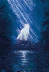 Ghost Wolf by moisesrodriguez-art