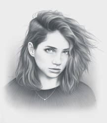Waves Portrait by moisesrodriguez-art