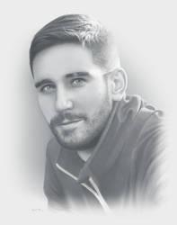 Commission Portrait by moisesrodriguez-art