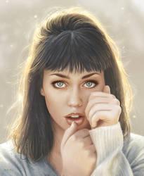 Oblivion Portrait by moisesrodriguez-art