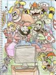 Mario's Crazy Wii Party