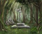 Statue of Goddess Harana