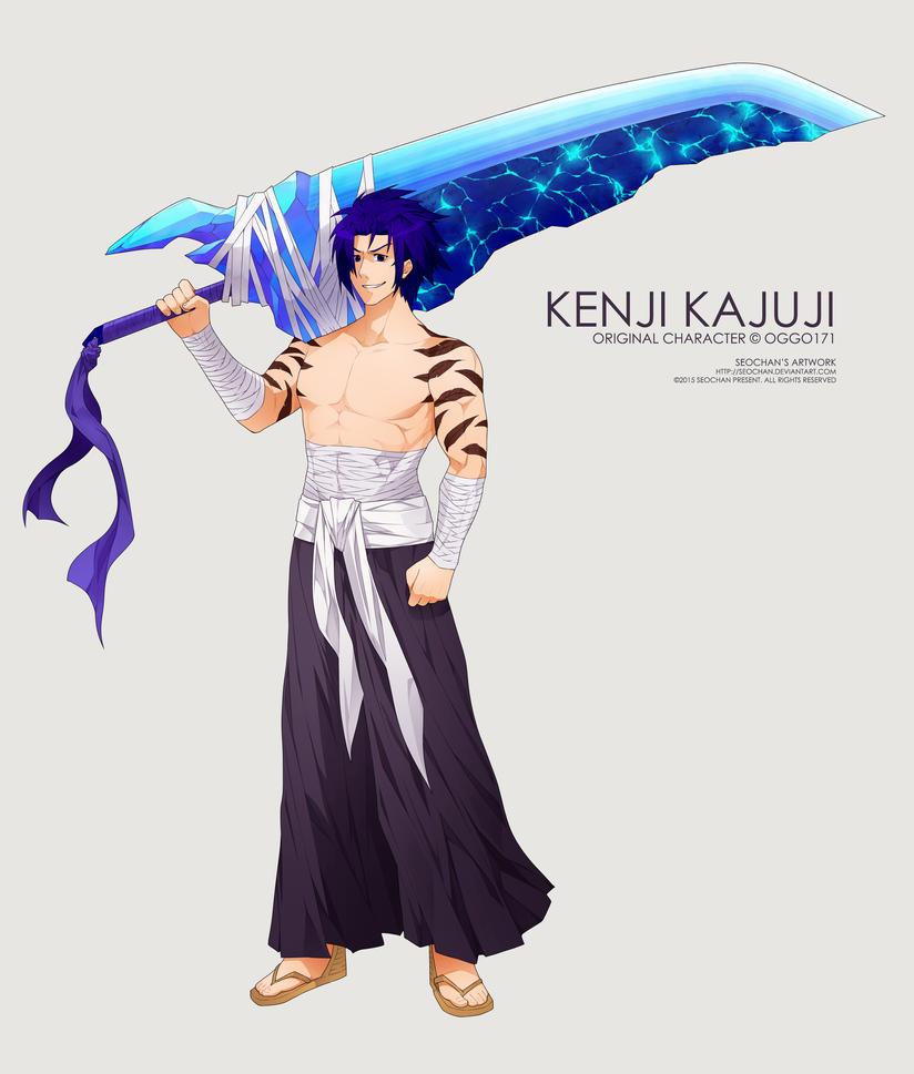 Kenji Kajuji: Eager Fo Battle By Oggo171 On DeviantArt