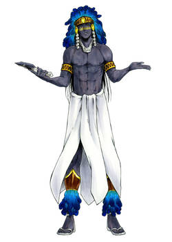 Yaopoca Tezcalli - Obsidian King