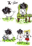 L in sheep form