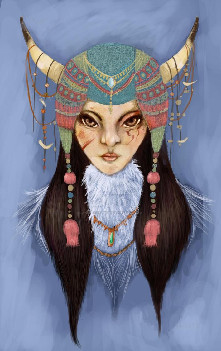 Mongolian Princess by anna-elizabeth