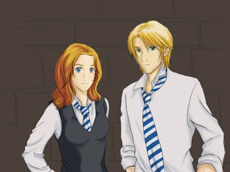 Rose and Scorpius: 7th Year