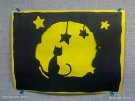 Cat and Stars
