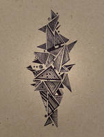 geometric castle by charlo-tree