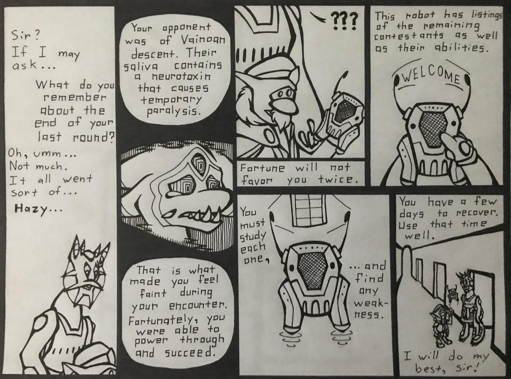Xotiathon Round 3, Page 2 by KebaWoolfeOCT