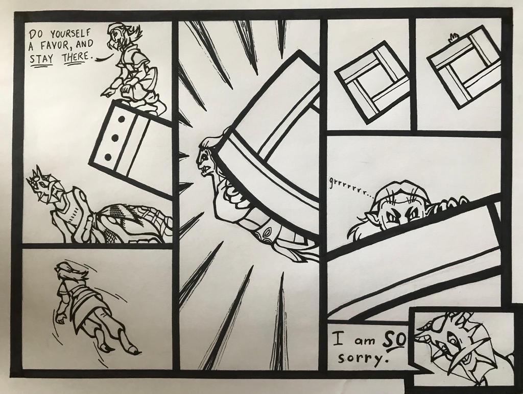 Xotiathon Round 3, Page 10 by KebaWoolfeOCT