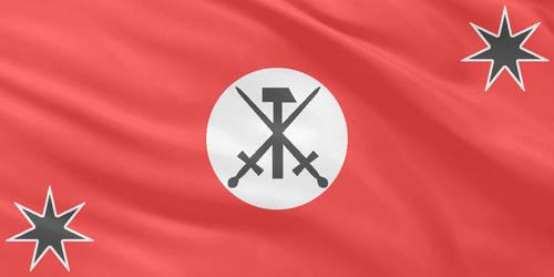 NazBol Austrailia Flag by MNABKERNU