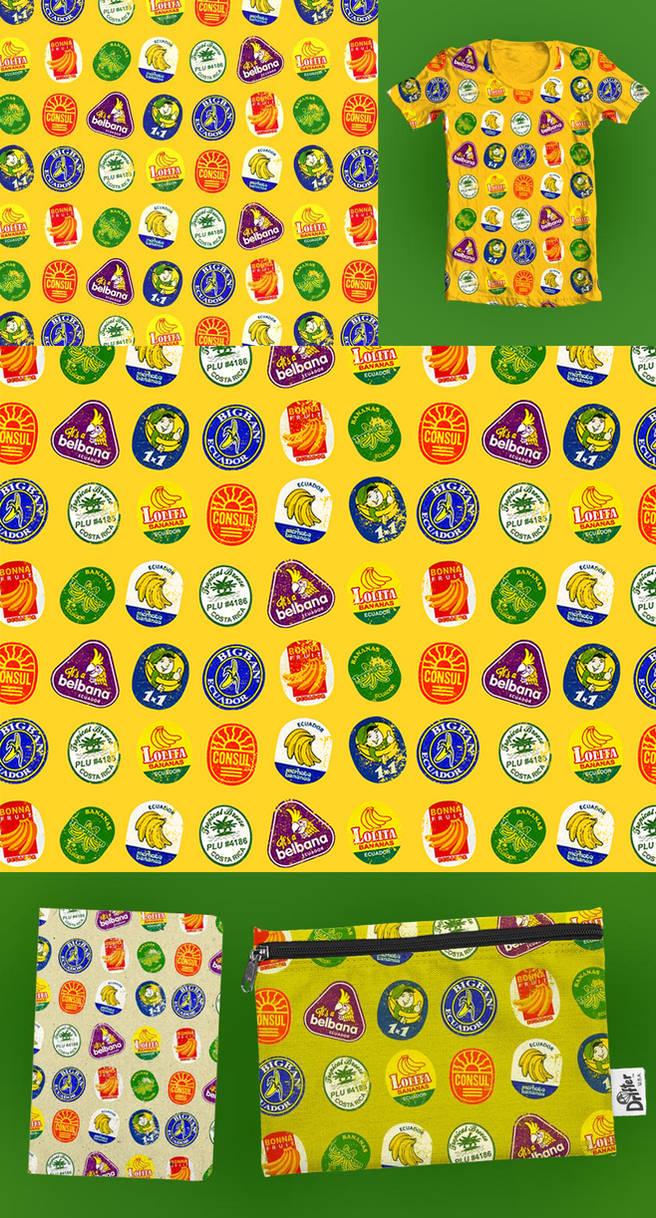 Banana Jam Pattern