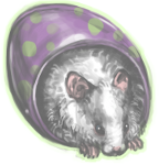 Eggs the Hamster by ashleigheperry