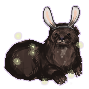 Bunny Otter by ashleigheperry