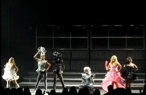 Glee goes Gaga LIVE by pink-e-dink