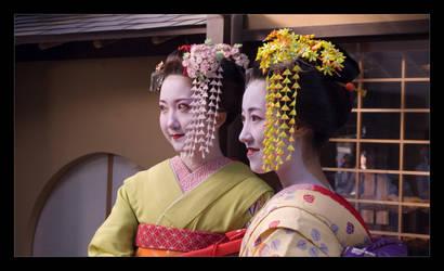 Maiko-san II by bukephalas