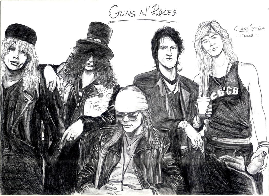 Guns N' Roses by edesign2007