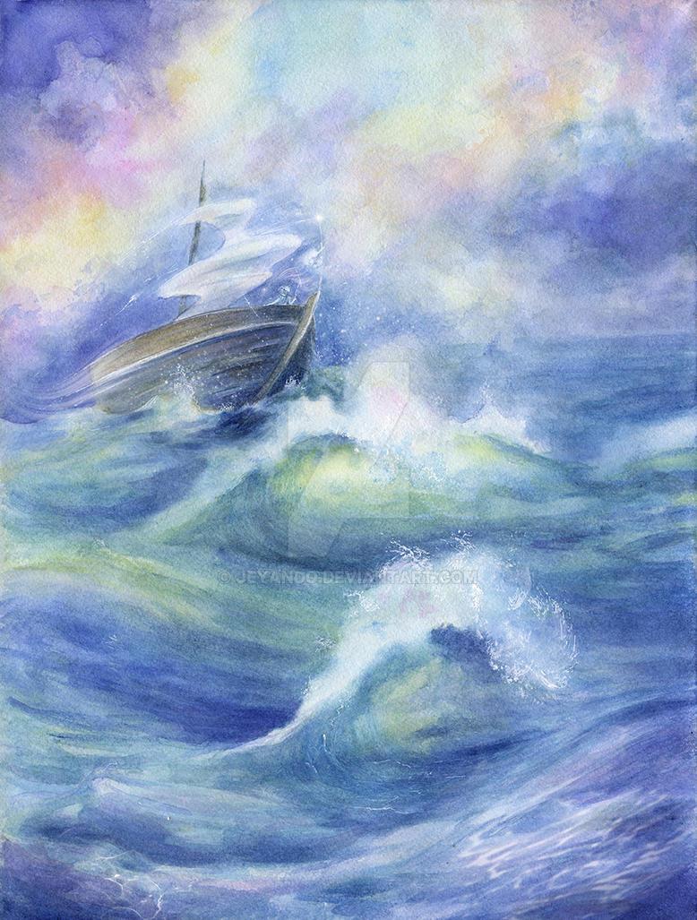 Sea and magic by jeyando