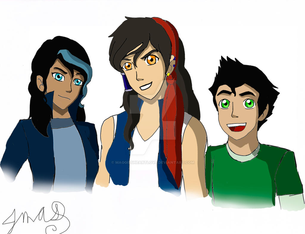MaKorra Children by MaggiesHeartLove on DeviantArt