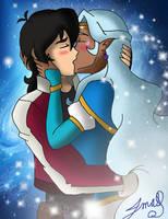 Keith and Allura Cosmic Romance by MaggiesHeartLove