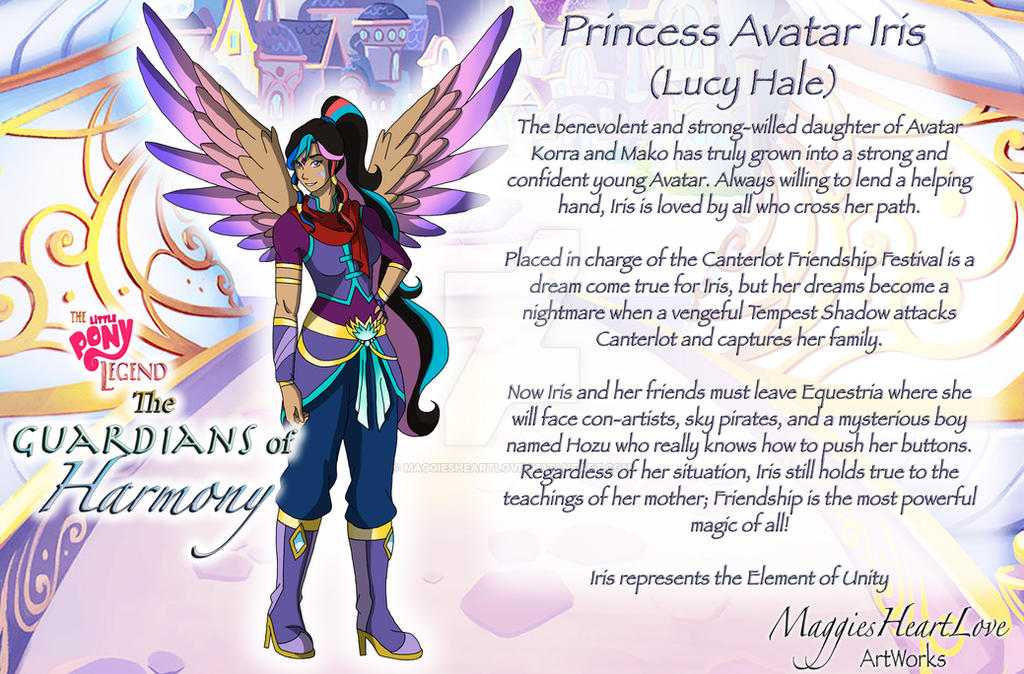 The Little Pony Legend Movie, Iris Profile by MaggiesHeartLove