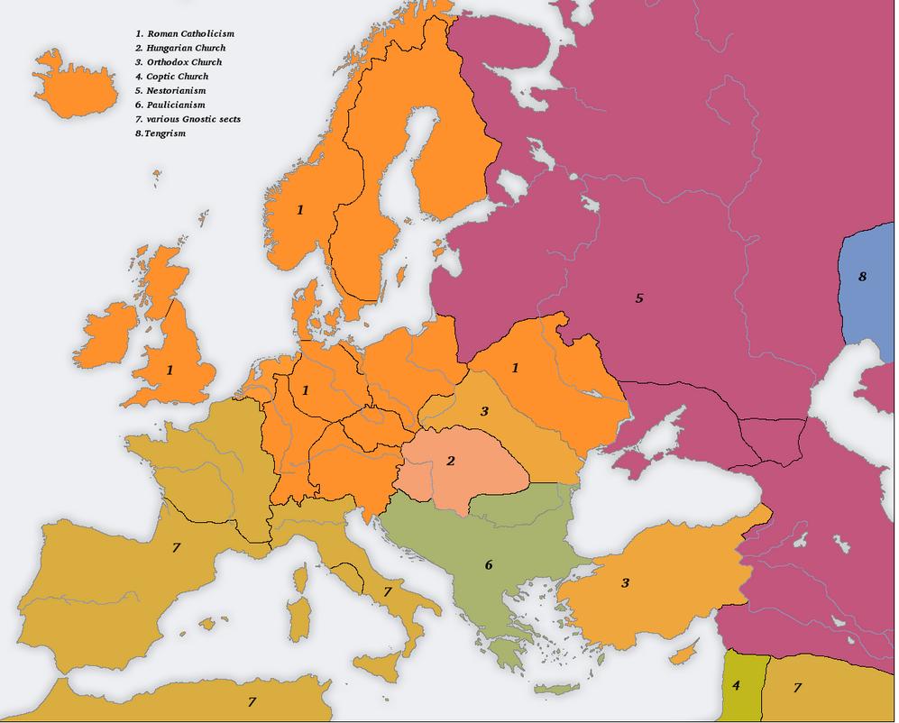 Many Romes 1700AD-secondary-religions by Artaxes2