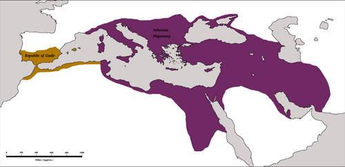 Athenian Hegemony 1AD by Artaxes2