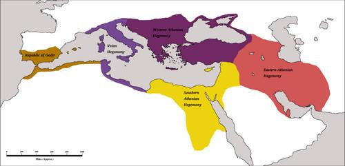 Athenian Hegemony 200AD by Artaxes2