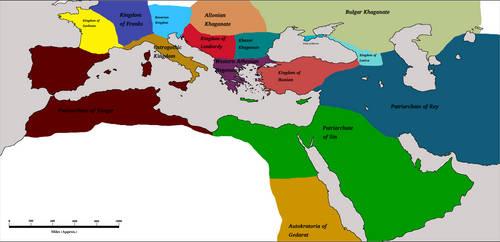 Athenian Hegemony 1100AD by Artaxes2
