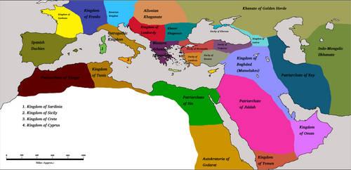 Athenian Hegemony 1400AD by Artaxes2