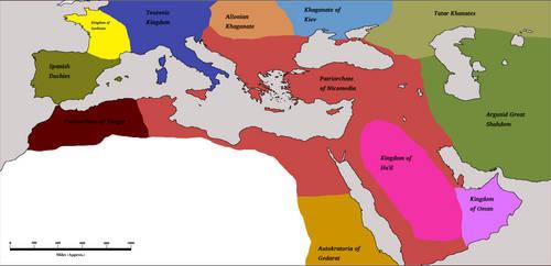 Athenian Hegemony 1600AD by Artaxes2