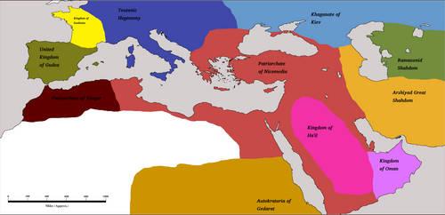 Athenian Hegemony 1800AD by Artaxes2