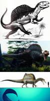 Spinosaurus Evolution