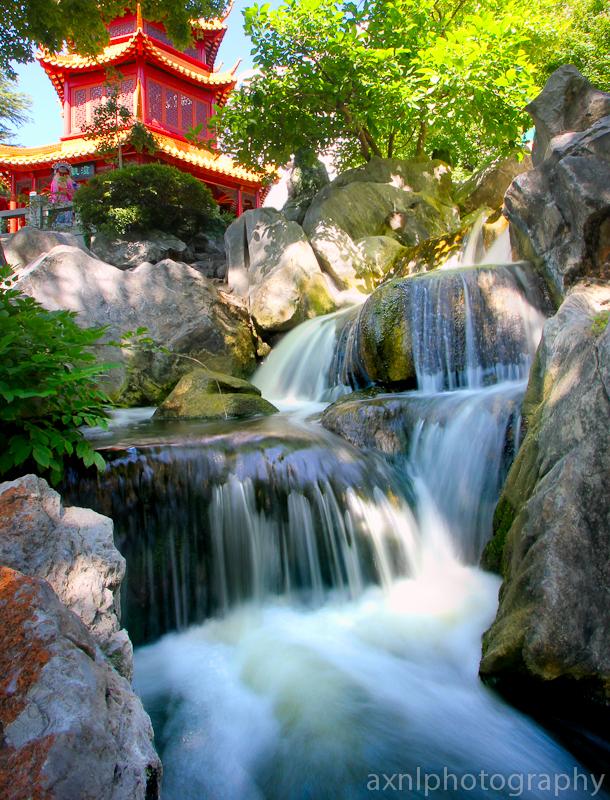 Chinese Friendship Garden by AXNLphotography