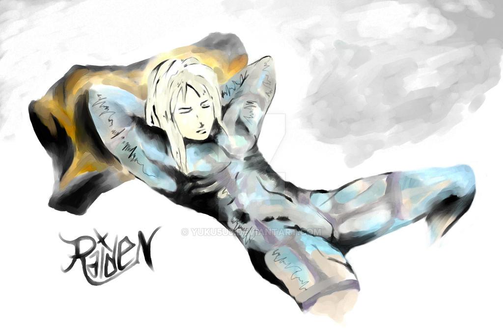 Raiden - Sleeping White Devil by YUKU5U3