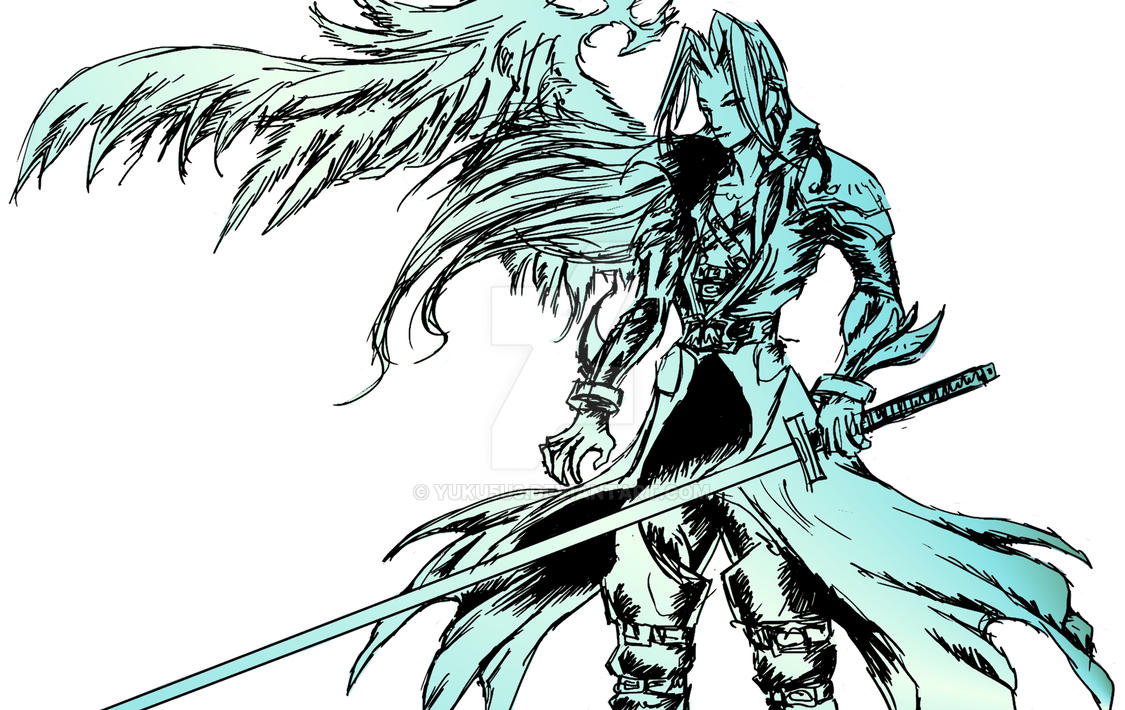 PSN Req - Sephiroth by YUKU5U3