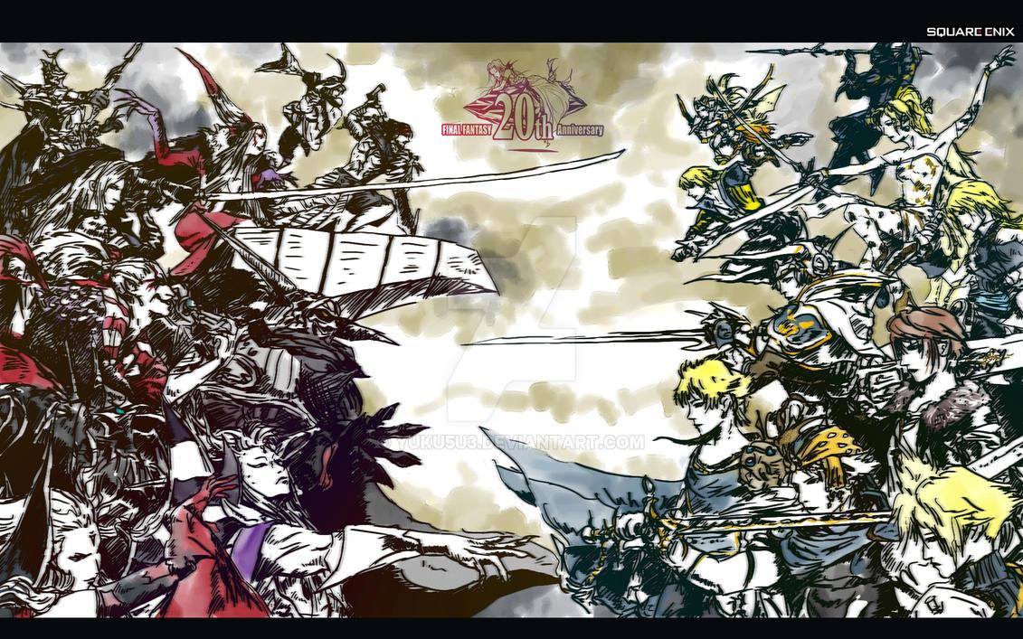 Chaos in the Cosmos Ultima BG by YUKU5U3